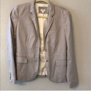 Tan jcrew blazer